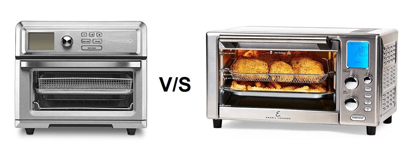 Emeril Lagasse Power Air Fryer 360 vs Cuisinart TOA-65