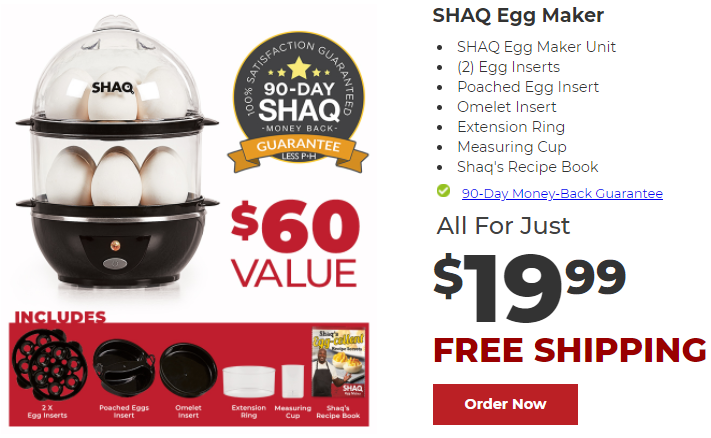 Shaq Egg Maker Review | Does ShaqEggMaker.com Work?